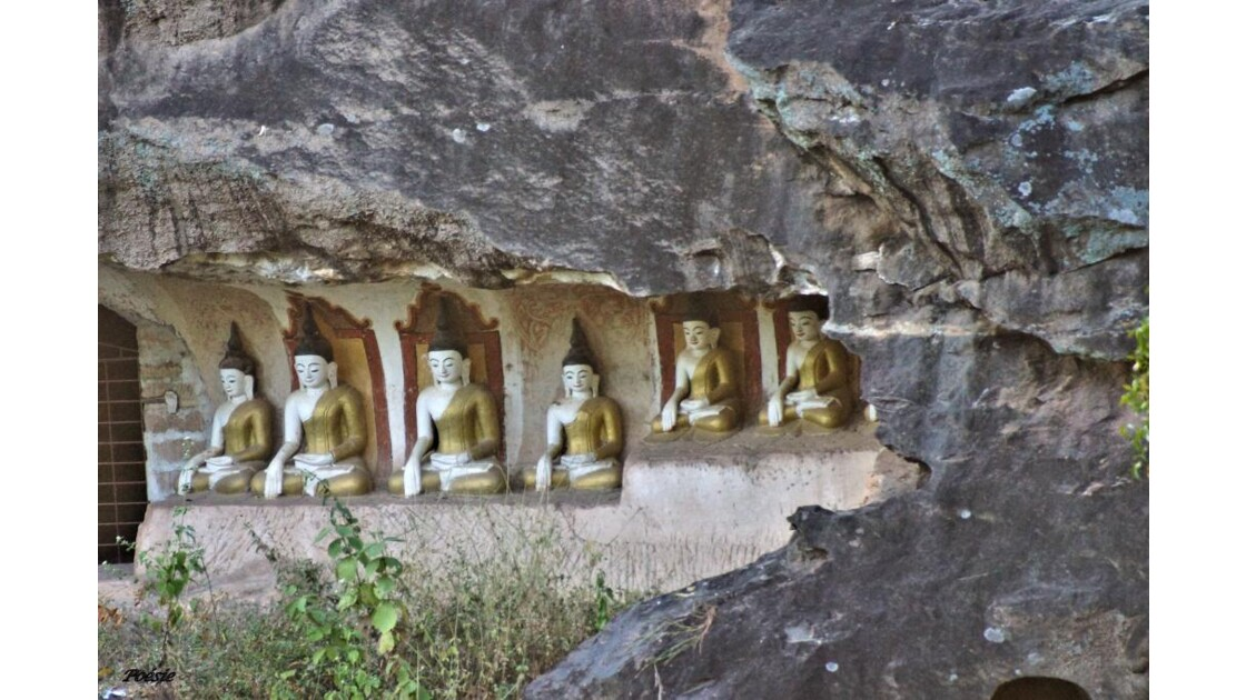 Po Win Taung - les grottes aux dix mill