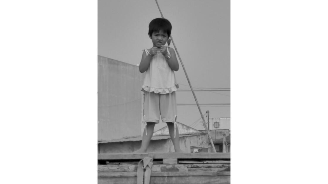 Vietnam-Dans les marchés flottants...