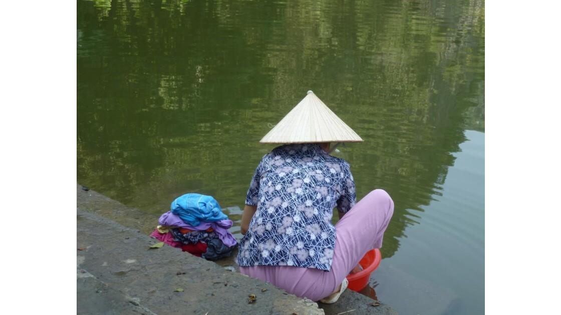 Vietnam-Lavandière