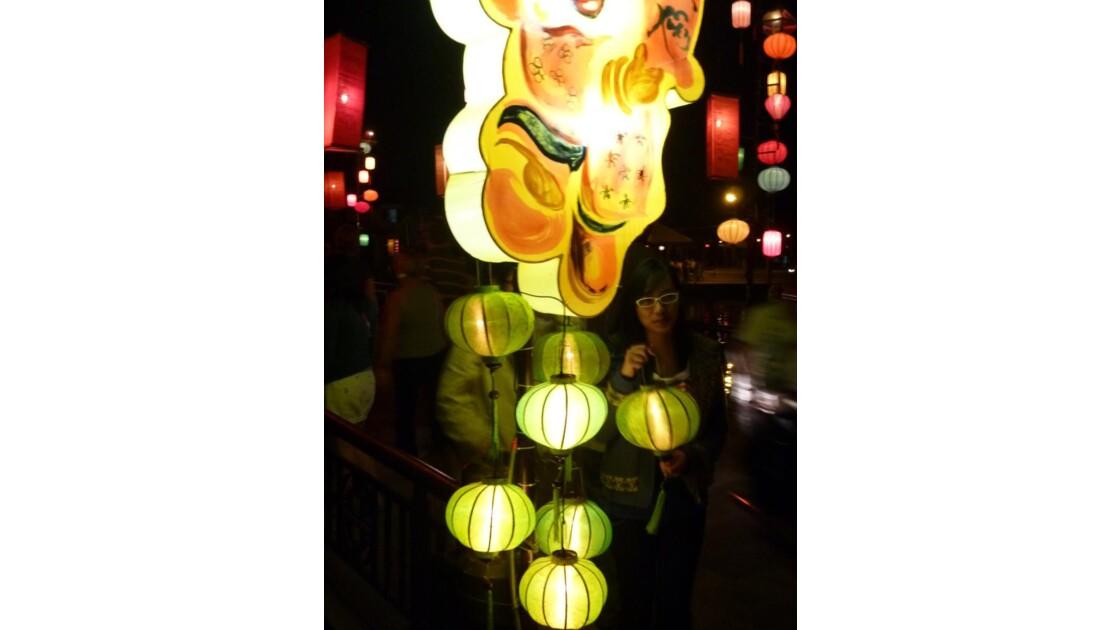 Vietnam-Lampions à Hoi An