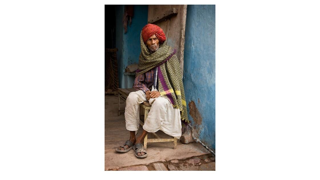 Bundi - Portrait d'un homme matinal