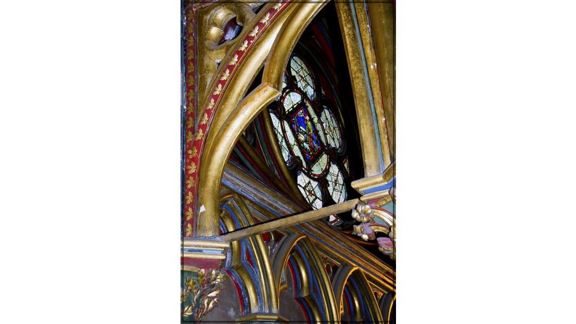 Chapelle basse - rosace