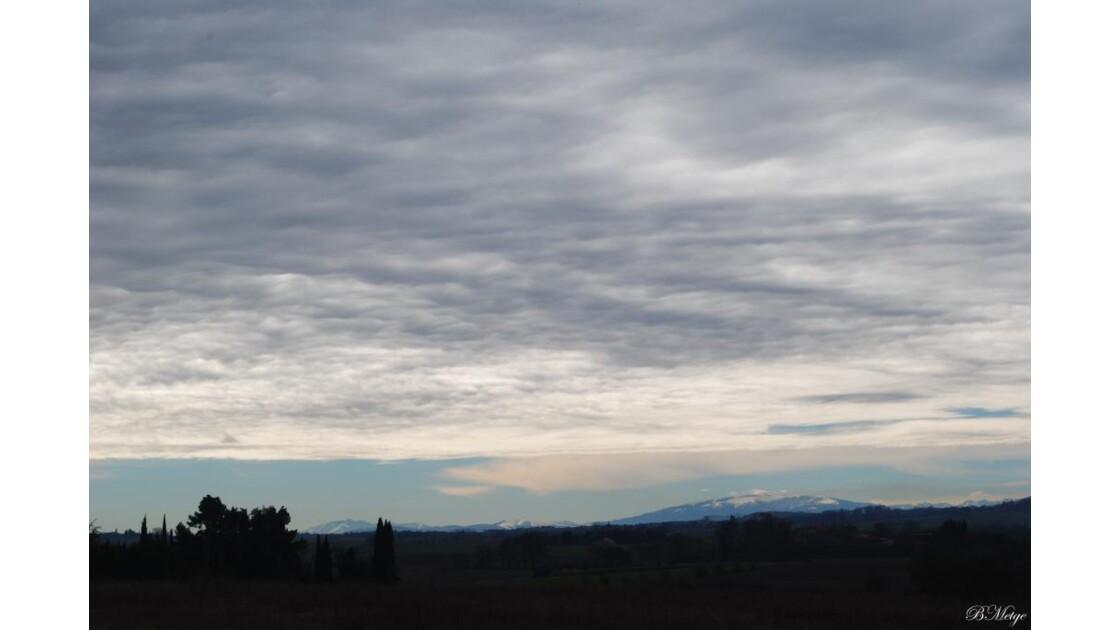 soleil sur pyrenees