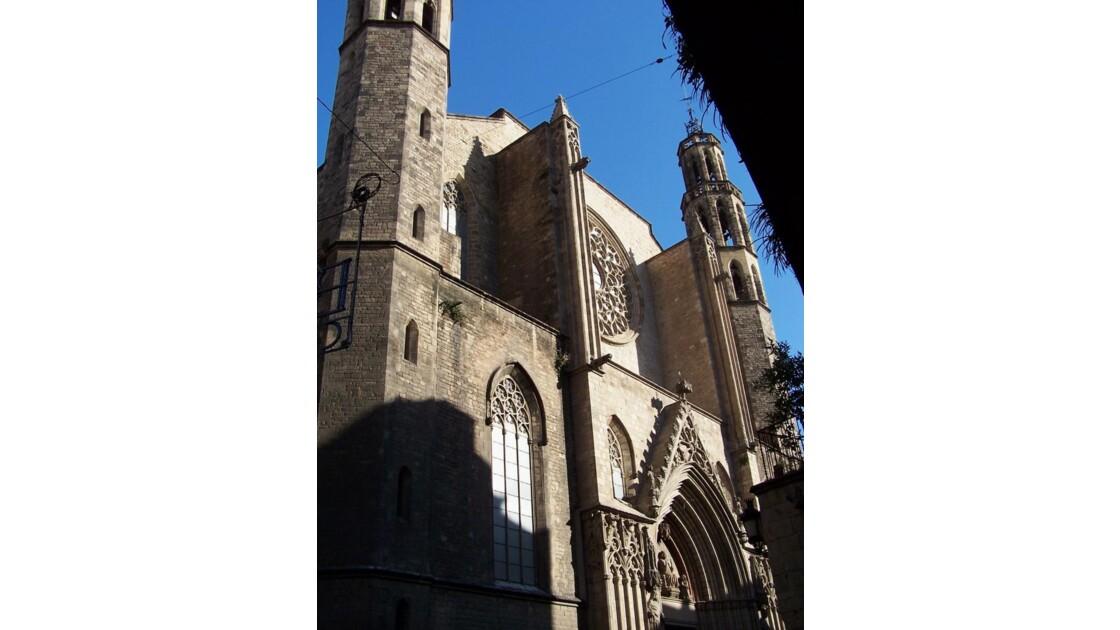 basilica de Santa Maria del Mar...