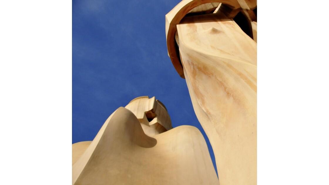 Abstraction Gaudi (Pour Raymonde)