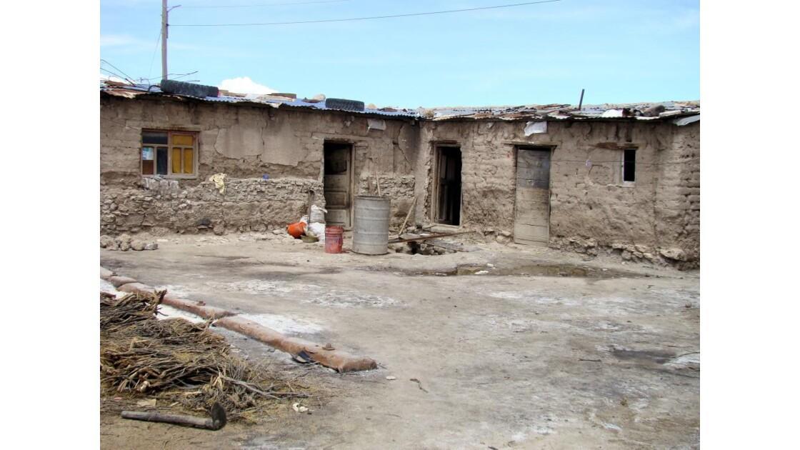Bolivie: village de COLCHANI (3653 m)