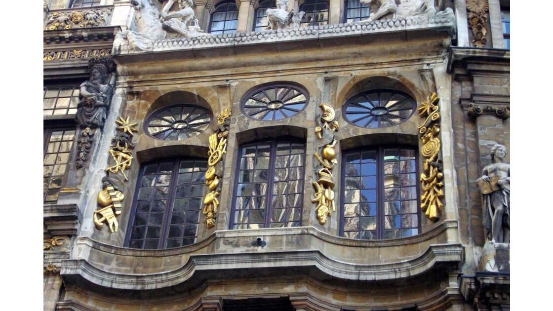 Détail d'une maison de la Grand Place