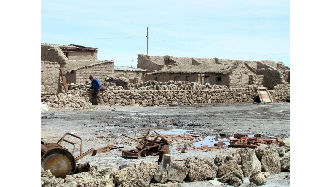 Bolivie: village de COLCHANI