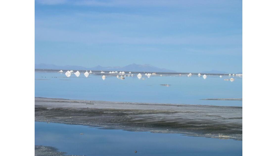 Bolivie: SALAR D'UYUNI (alt. 3653 m )