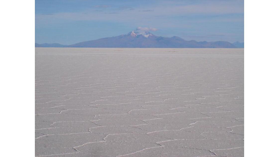 Bolivie: SALAR D'UYUNI (alt. 3653 m)