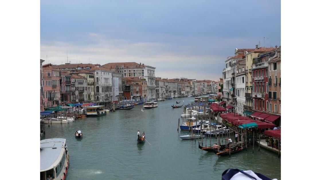 Le grand Canal vue du Rialto