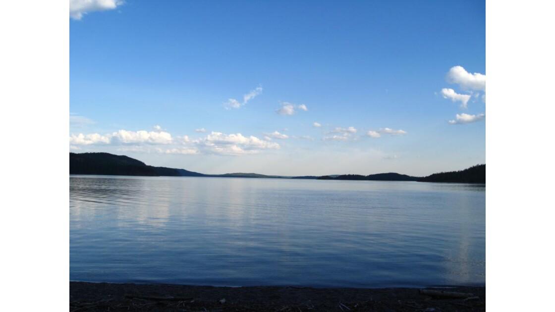 Un soir au lac Témiscamingue