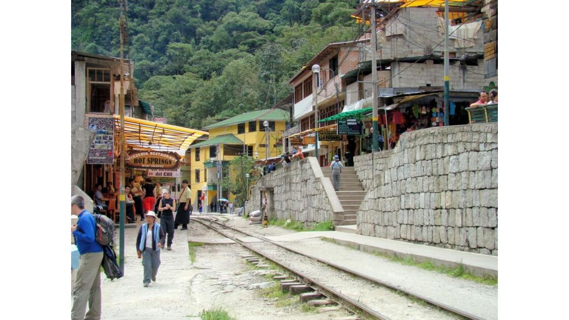 Pérou: Village AGUAS CALIENTES