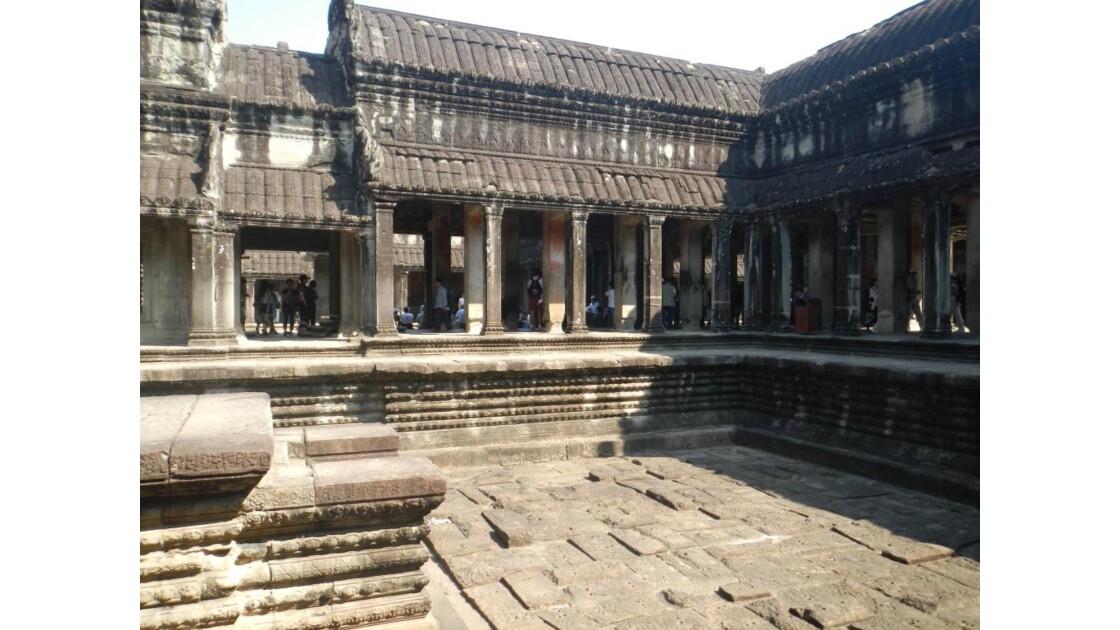 Angkor Vat enceint intérieure du temple