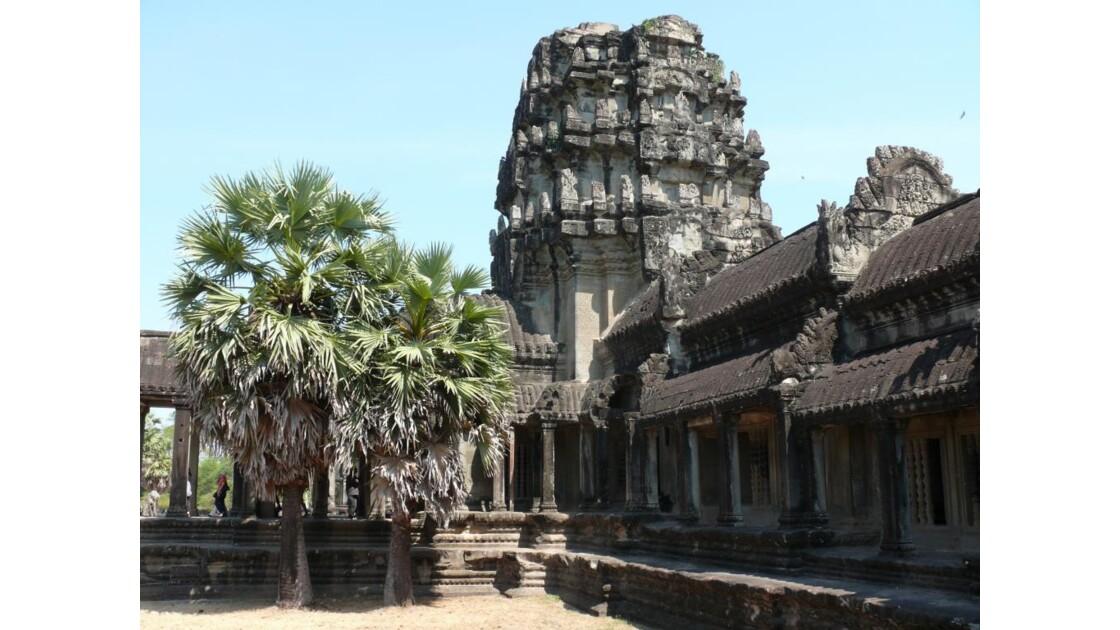 Angkor Vat porte occidentale