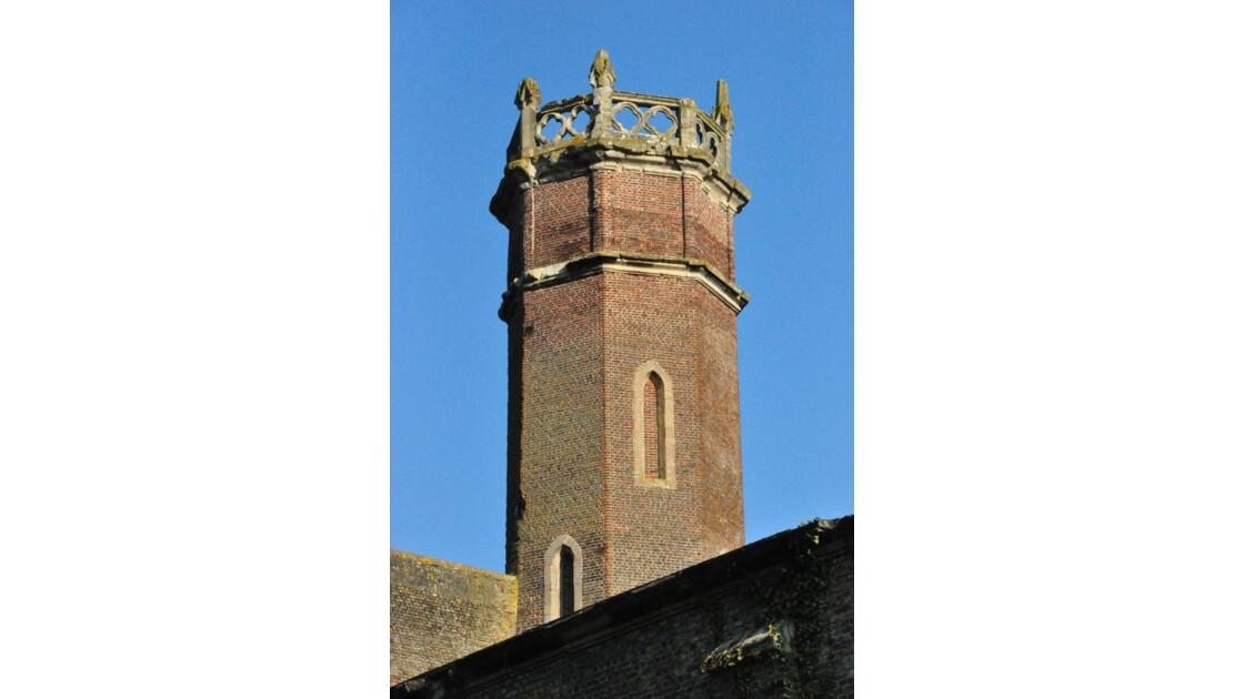 Vestiges du château de  Fontaine Guérar