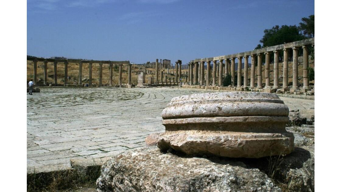 Jerash - au ras du forum