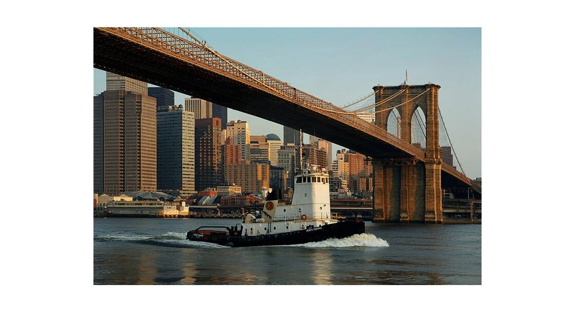 New York bateau remorque
