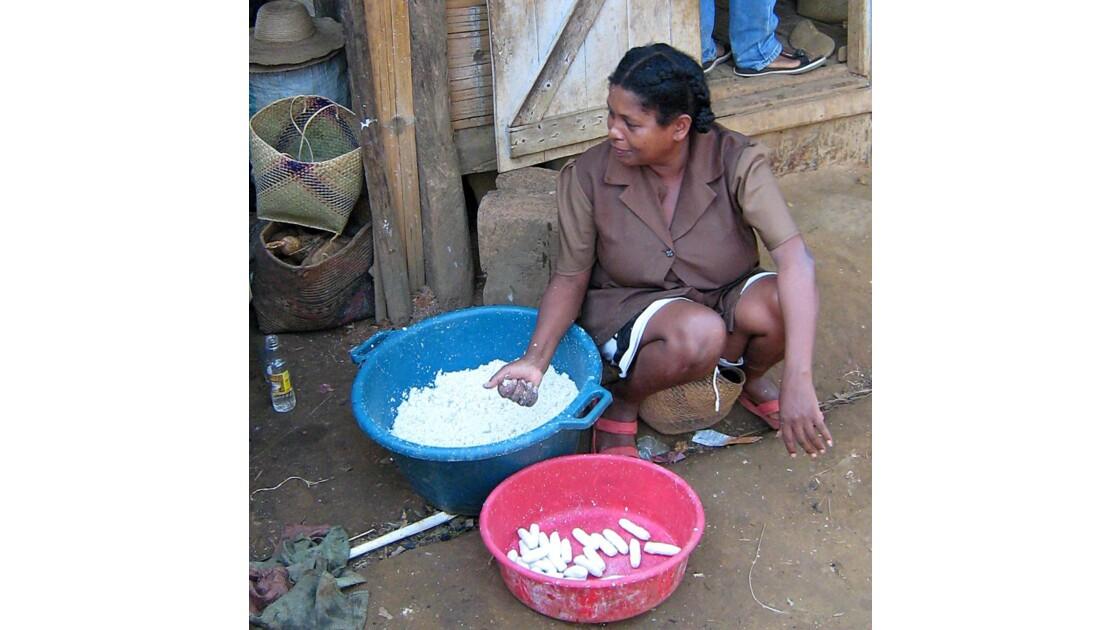 les boulettes de manioc