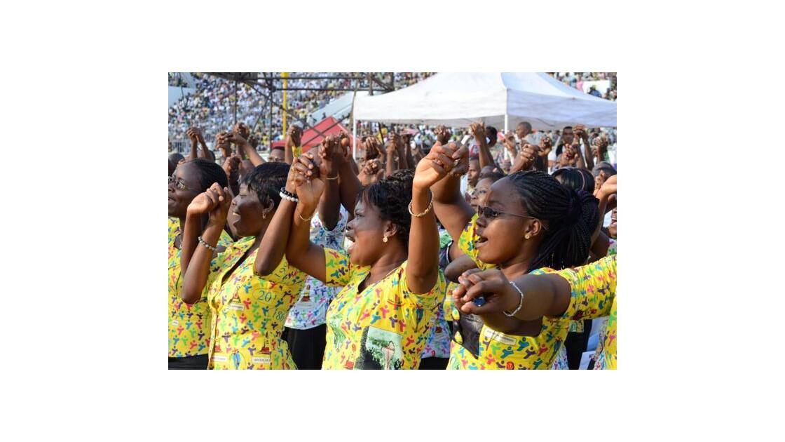 Messe Papale - Cotonou 2011