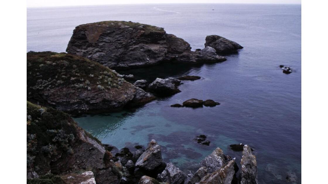 Rochers sur la côte nord