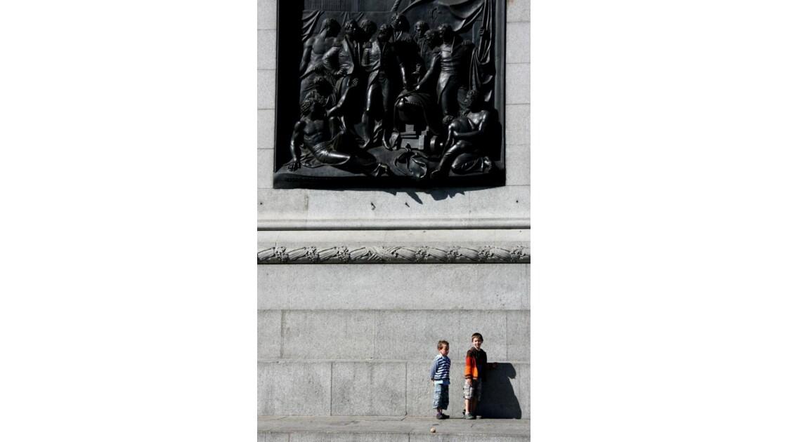Londres ecrasant monument