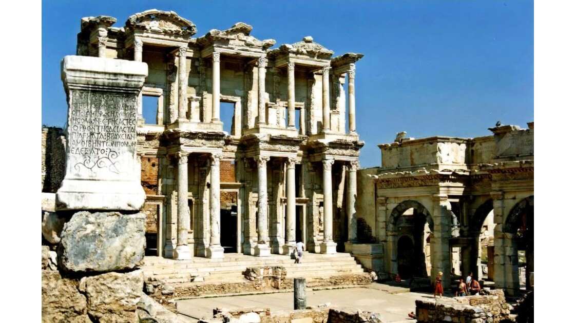 Ephèse, Bibliothèque de Celsus