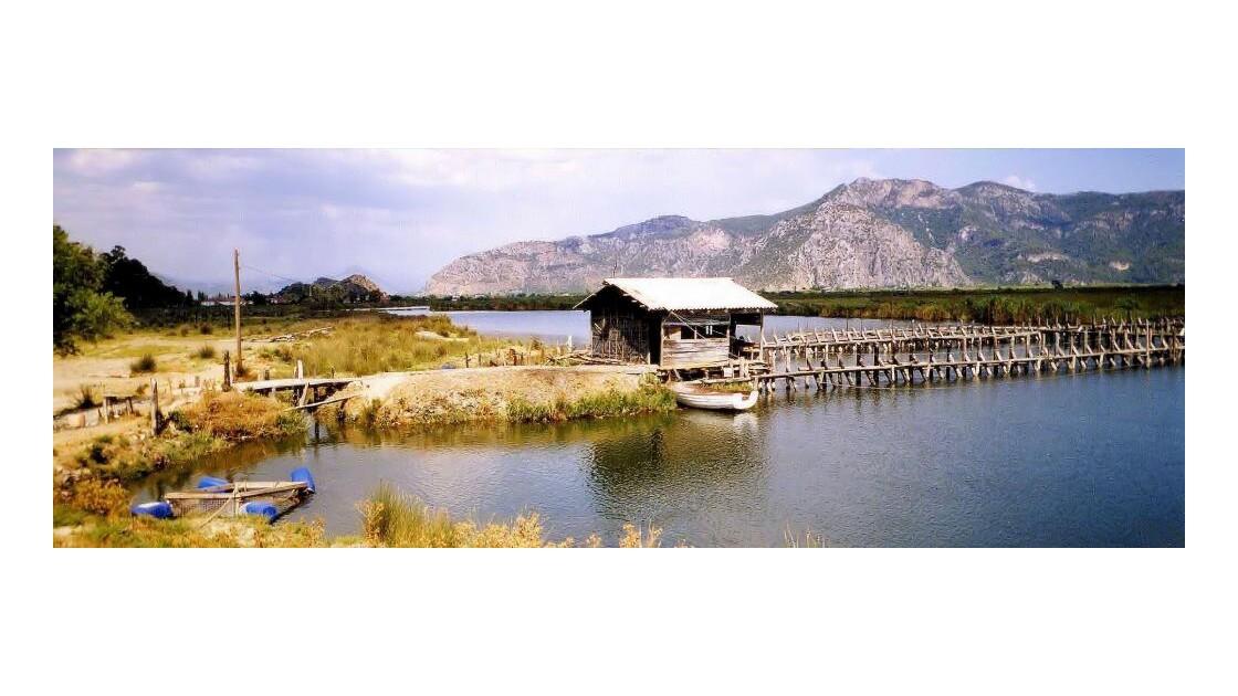 La lagune de Caunos