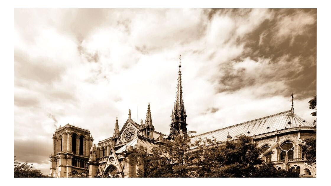 Notre-Dame de Paris - Sépia