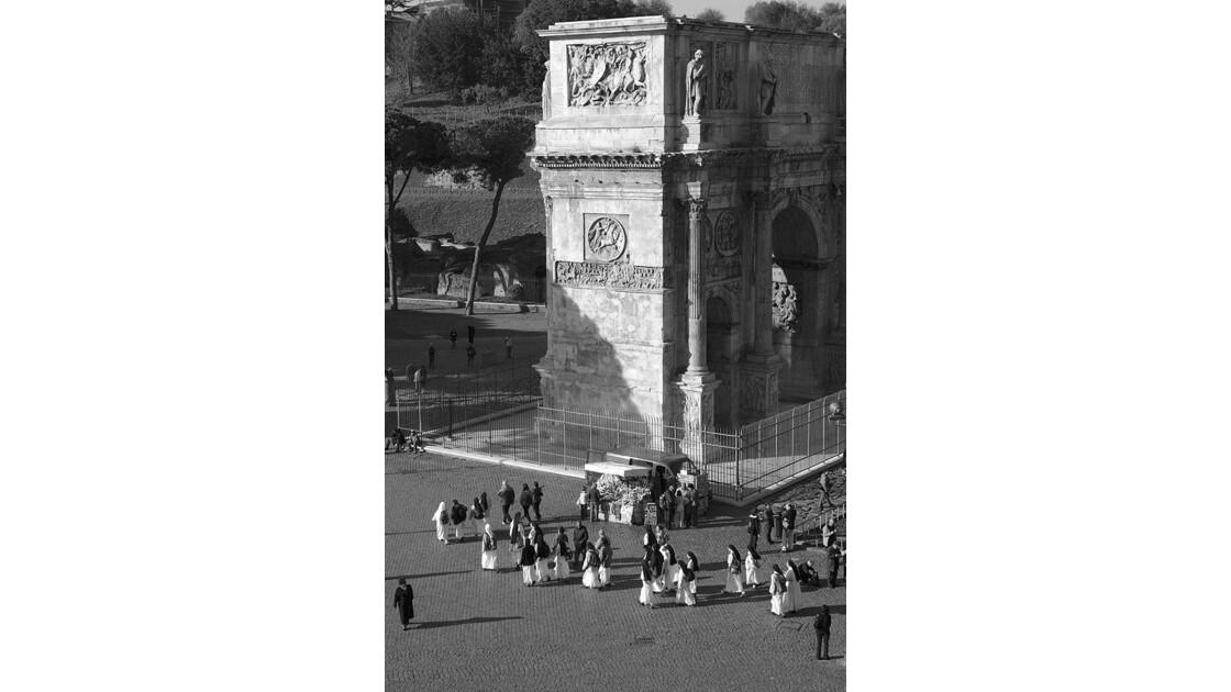 Rome, vue du colise