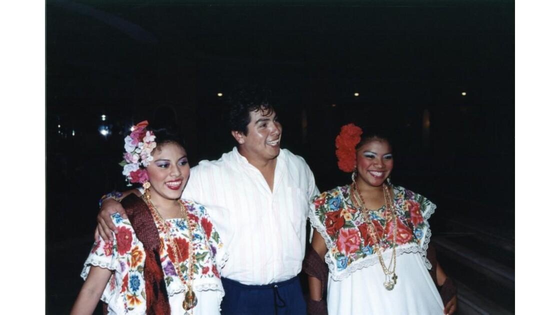Spectacle de danse à Merida