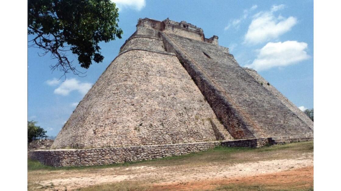 Pyramide du Devin à Uxmal