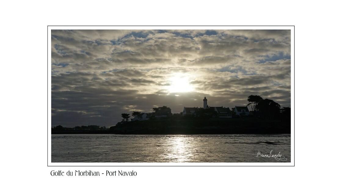 Port Navalo, l'embouchure du golfe