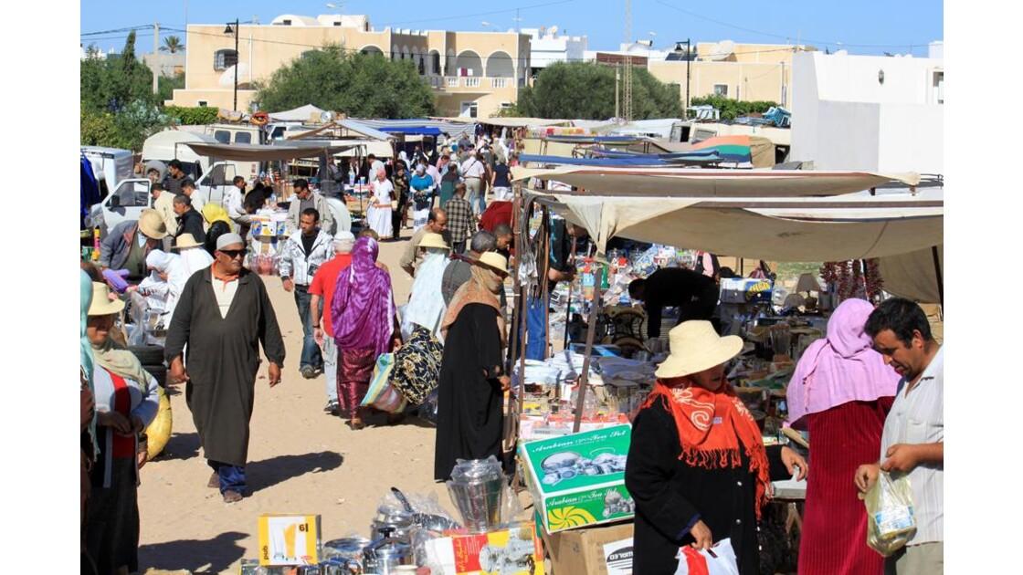 marché sur l'île de Djerba.1