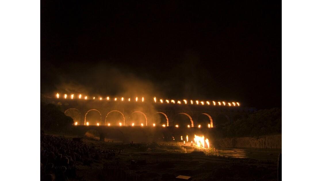 Pont du Gard - Nocturne LUX 1