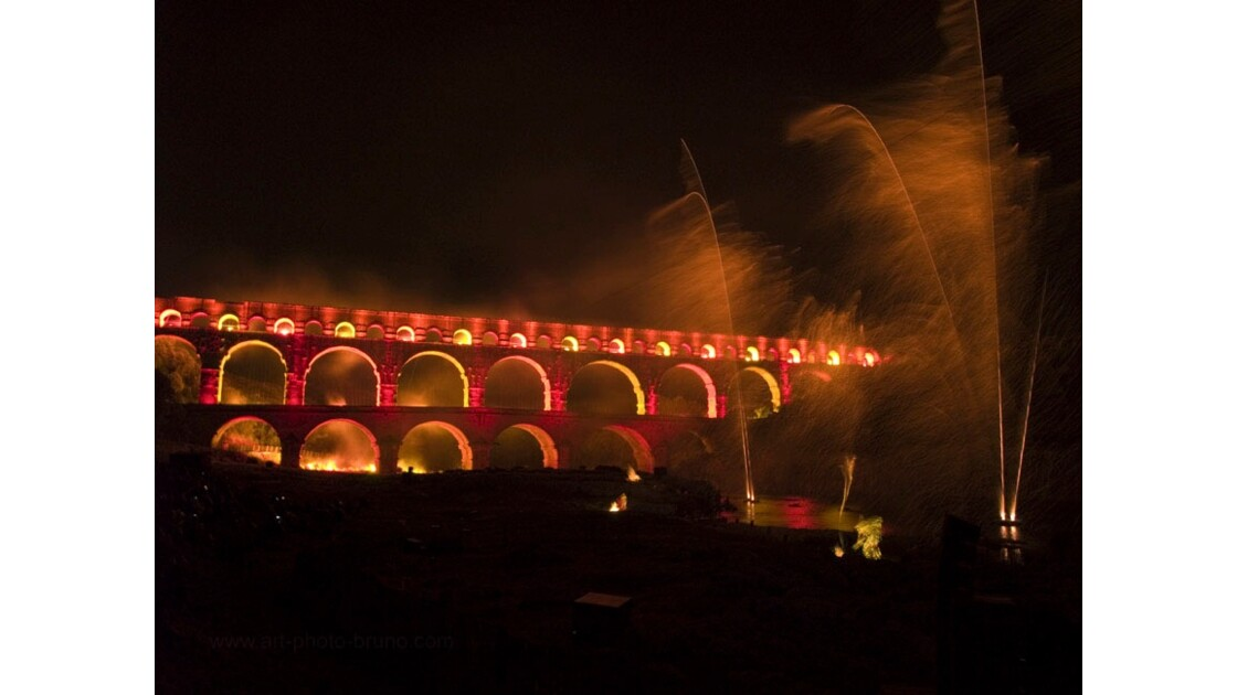Pont du Gard - Nocturne LUX 16