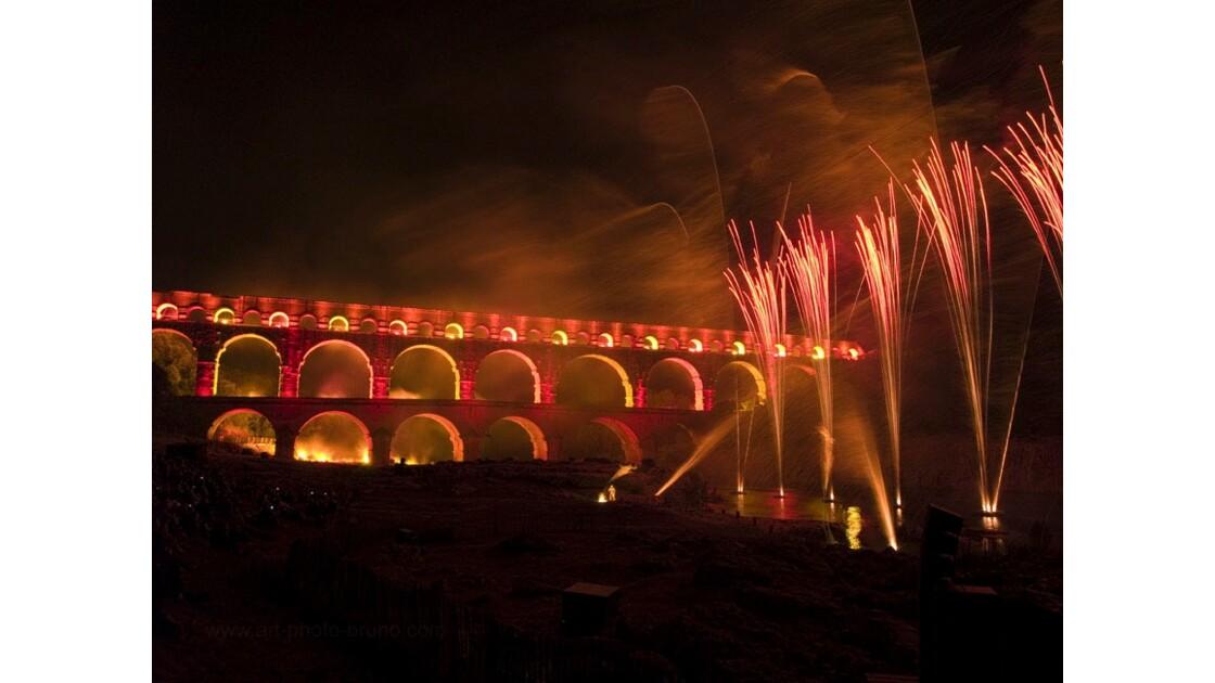 Pont du Gard - Nocturne LUX 17