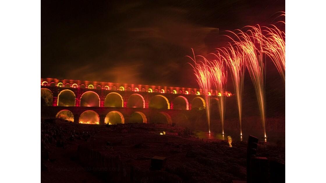 Pont du Gard - Nocturne LUX 18