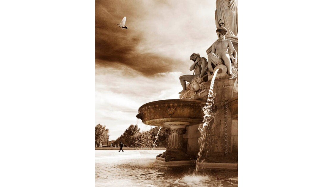 Fontaine Pradier à Nîmes