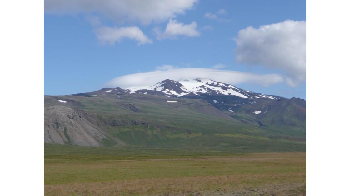 le volcan-glacier de Snaefellsjökull