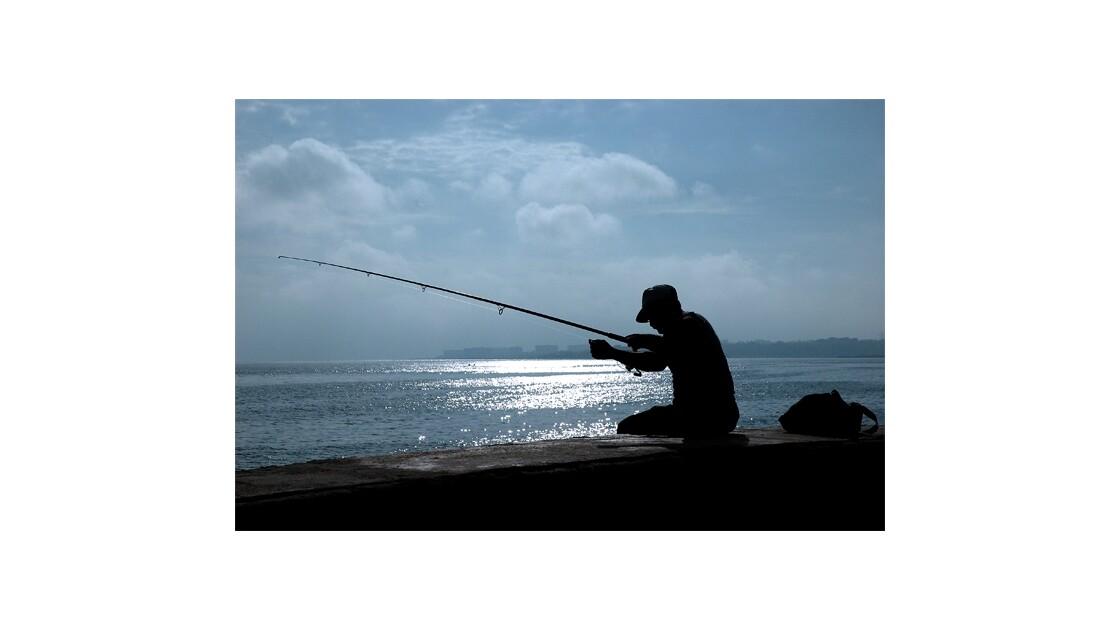 Cuba : Pêcheur cubain