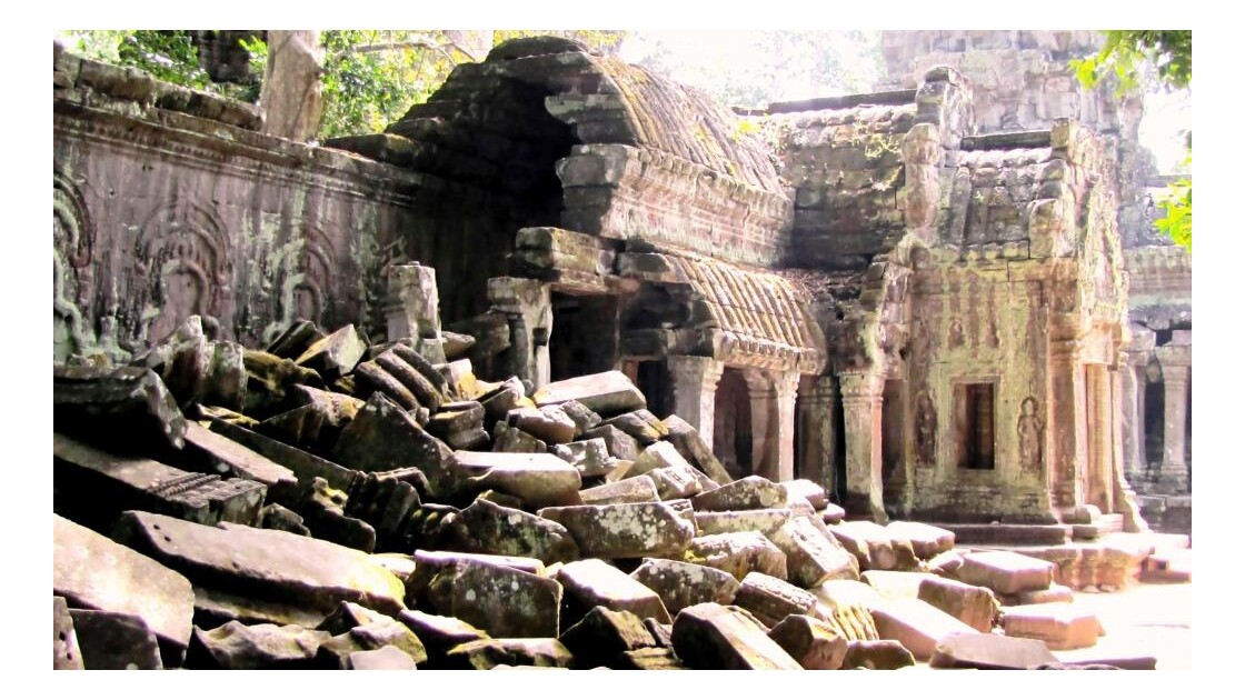 Angkor déstruction
