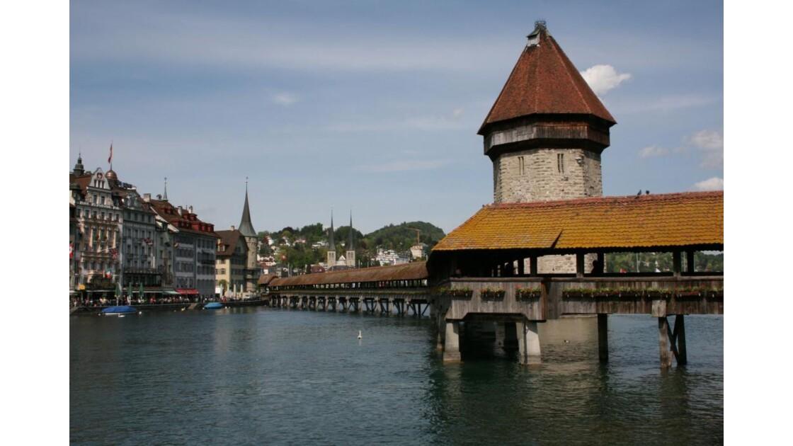 LUCERNE -  Le Kappelbrücke
