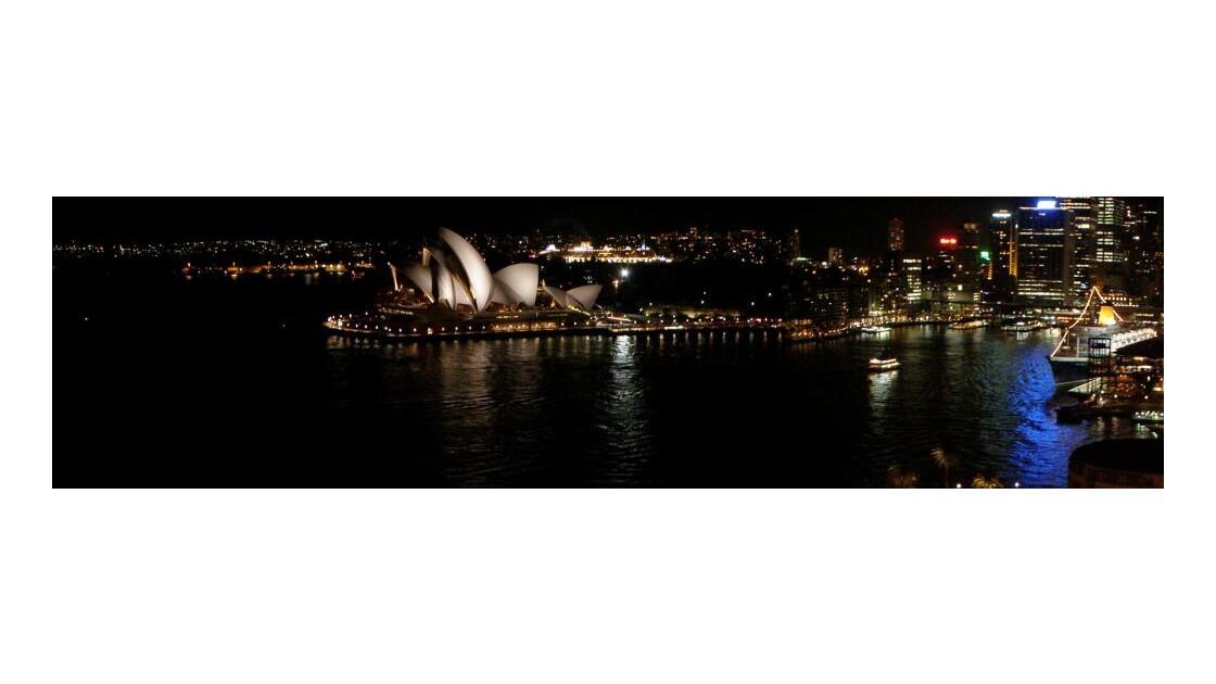 L'Opera et le port vue du Harbor bridge
