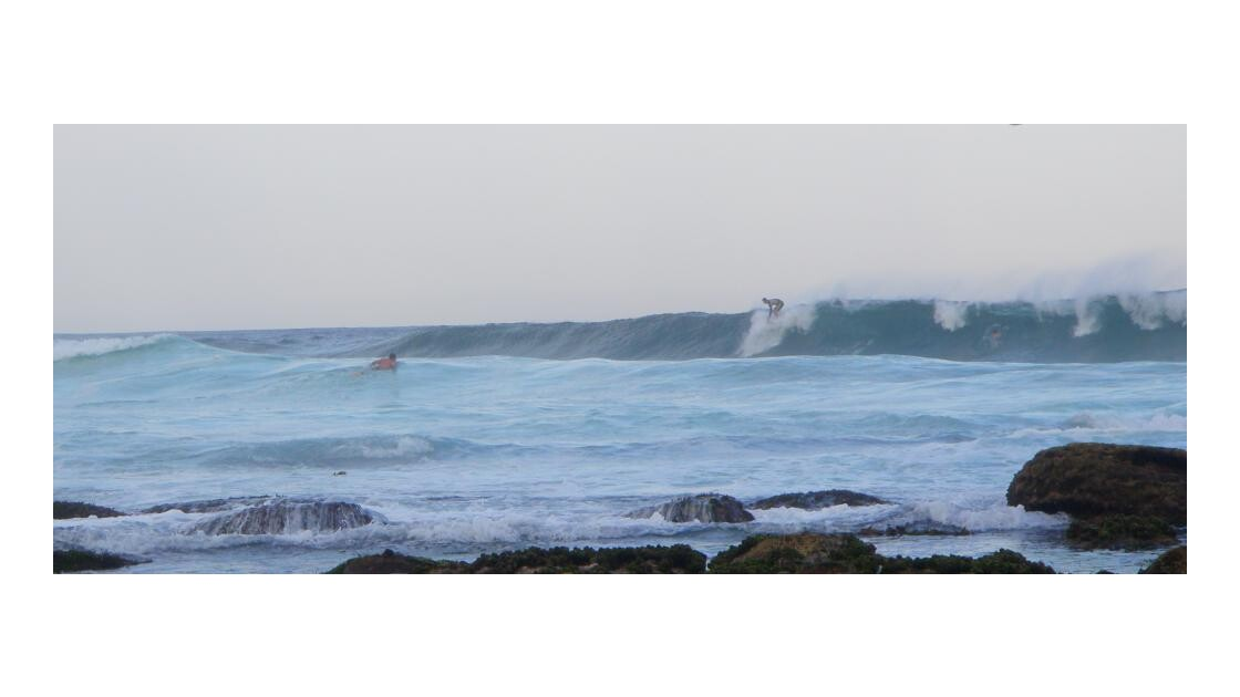 des surfeurs non loin de Bondi beach