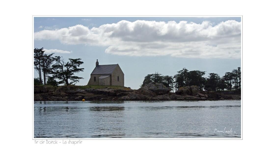 Chapelle de l'île Boëdic