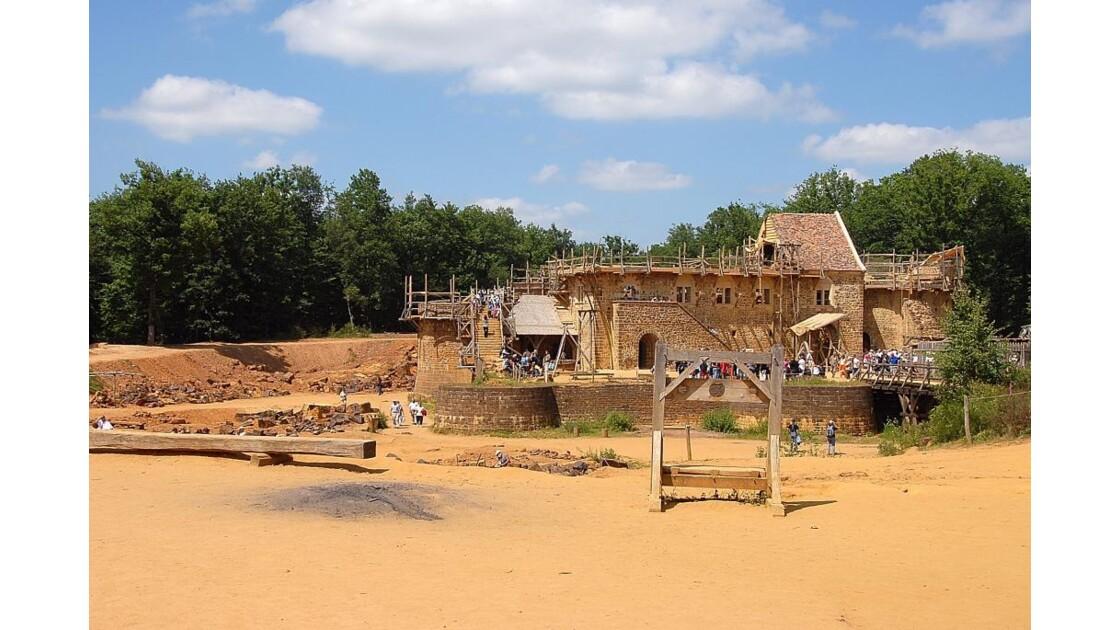 Chateau fort de Guédelon