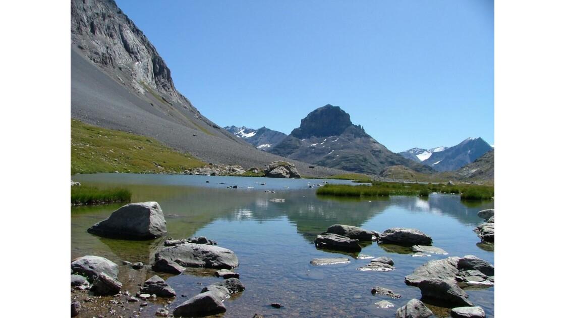 Lac Rond au col de la Vanoise 2515m