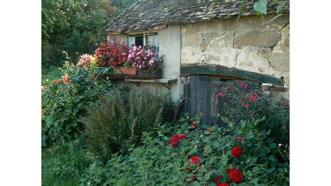 Montmachoux  joli village