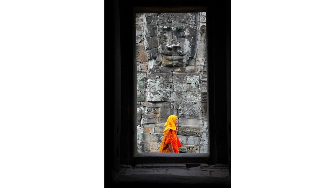 Le moine du Bayon